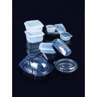 Σκεύη ΡΡ διαφανή  & μαύρα (για ζεστά πιάτα & σως)