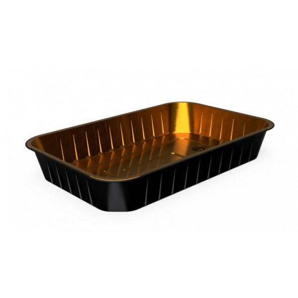 Σκεύος Αλουμινίου Μαύρο S.W Σκεύη Αλουμινίου Ενισχυμένα S.W (Sealing)