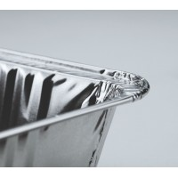 Oρθογώνια σκεύη αλουμινίου χωρίς καπάκι